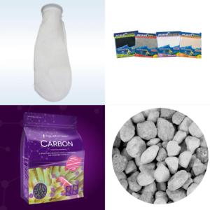 Filter Media, Socks, Bags, Pads, Sponges, & Cartridges